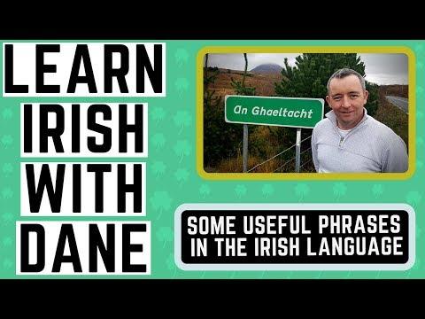 Useful Irish Phrases for Everyday Conversation - Learn Irish Language