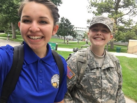 Air Force and Army ROTC - Freshmen