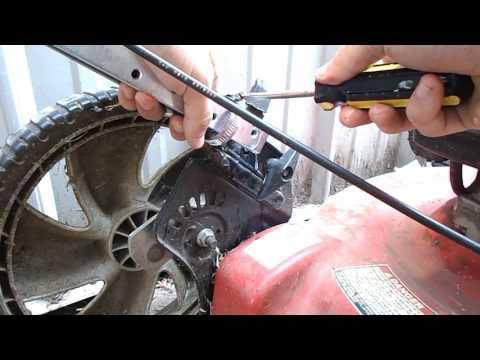 Broken Lawn Mower Handle Repair