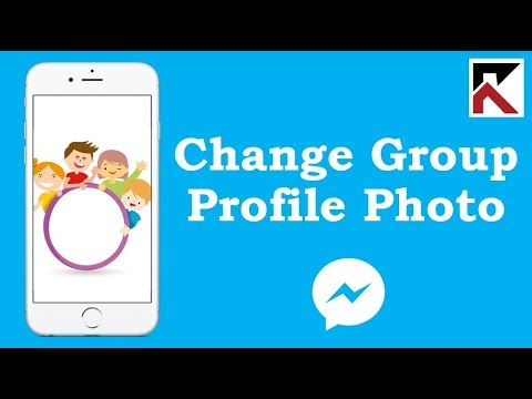 Change Group Conversation Profile Picture In Facebook Messenger