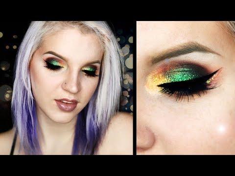 HOLIDAY Glitter Eye | Makeup Tutorial | Christmas Vibes