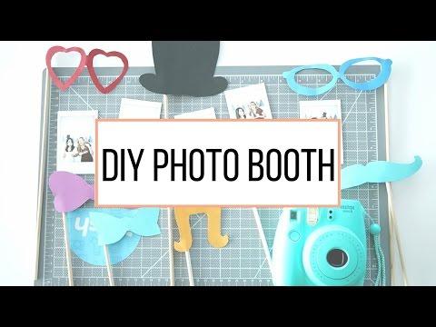 Watch Me Craft   DIY Photo Booth