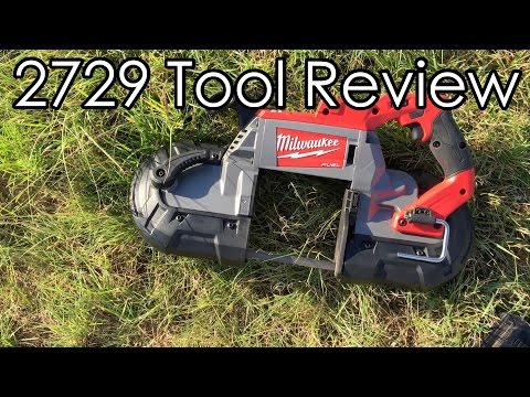 Milwaukee 2729 Cordless Bandsaw Review
