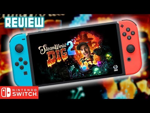 SteamWorld Dig 2 - Nintendo Switch Review   🤖⛏️💎