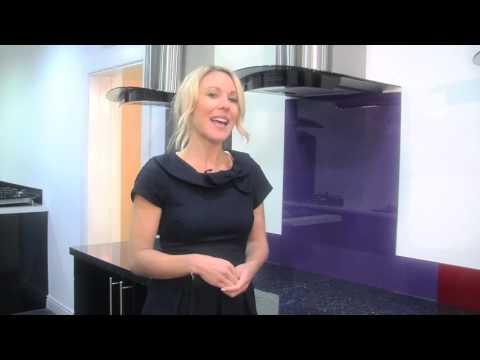 Lilac - Colour Toughened Glass Splashback
