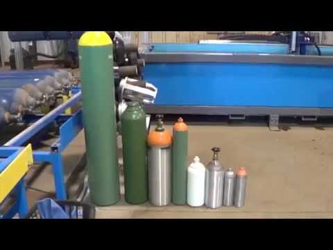 GAS INNOVATIONS UE5 AUTOMATED CYLINDER TESTING