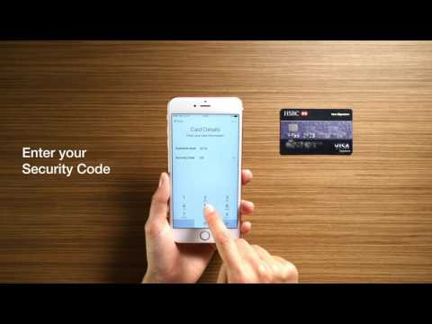 How to add your HSBC Credit Card on Apple Pay