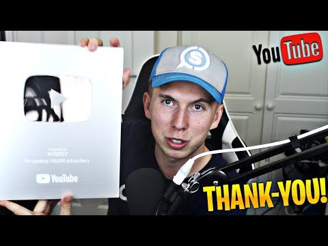 Look what YouTube sent me! Thank-you All! #HiggsArmy!
