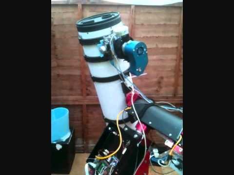 Arduino astronomy telescope control: Introduction and Gotos on homemade mount