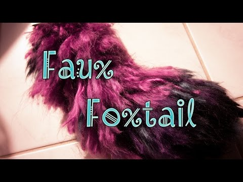 {CRAFT} Making a faux foxtail
