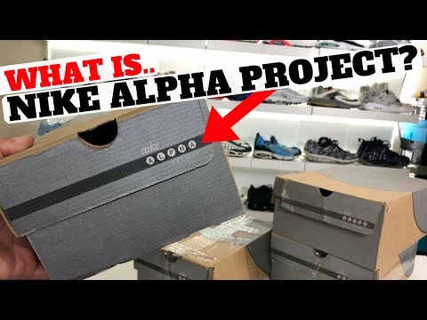 What Is Nike ALPHA PROJECT? New Pickup From 2002!!