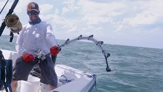 Fishing for Cobia and Monster Bull Sharks - 4K