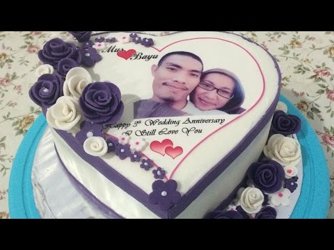 Edible Image Cake Love Easy Simple Decorating How to