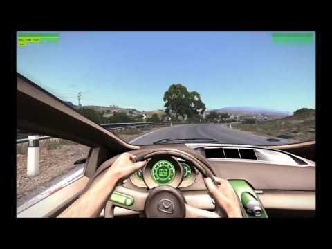 Arma 3 - Hatchback Sport Analog Steering Test