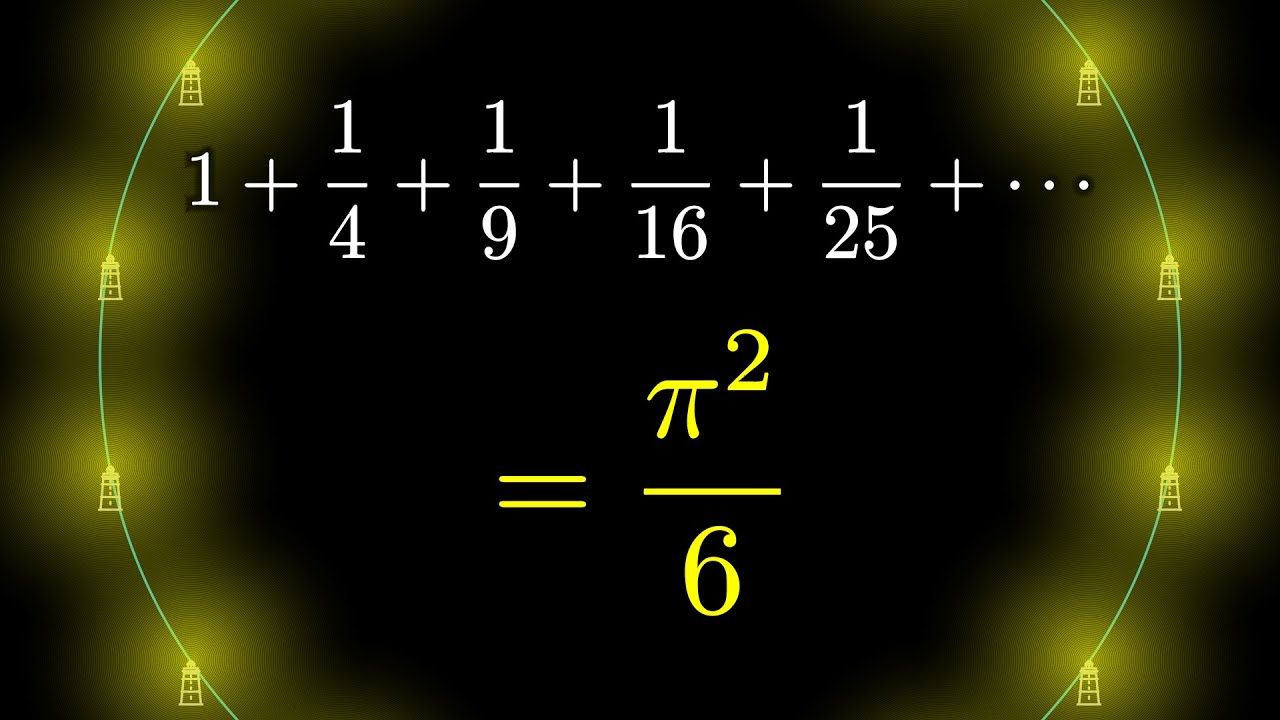 Why is pi here?  And why is it squared?  A geometric answer to the Basel problem