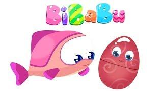 Deutsch lernen mit #BIBABU 🎵 Wir lernen die Klänge🔔Zeichentrickfilme für Kinder 🎀 Bibabu Cartoon