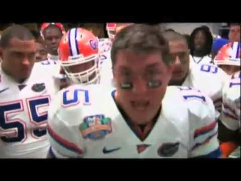 Tim Tebow National Championship Halftime Speech