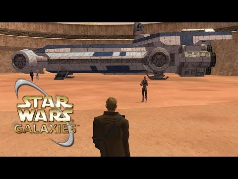 Star Wars Galaxies EMU - Modding Graphics and Ranting About Sandbox Games