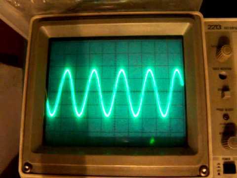 variable sine wave generator schematic