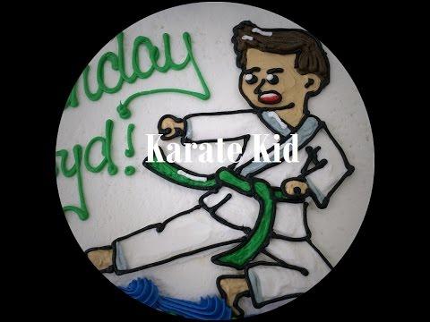 Karate Kid Cake (Time-Lapse)