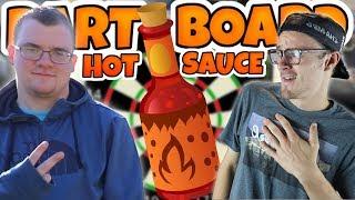 1VS1 DART BOARD DRAFT!! LOSER TAKES A SHOT OF HOT SAUCE!! Madden 18 MUT Draft
