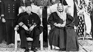 "AbdulWahhab Greeting HM King AbdulAziz AlSaud in Cairo - 1946 ""يا رفيع التاج - Ya Rafik alTaj"""