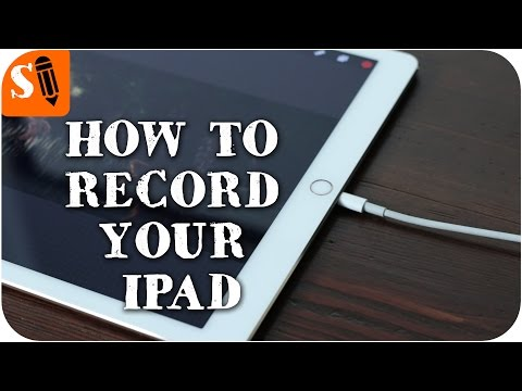 Record your iPad with Quicktime