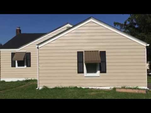 Painting Aluminum Siding - Exterior House Restoration