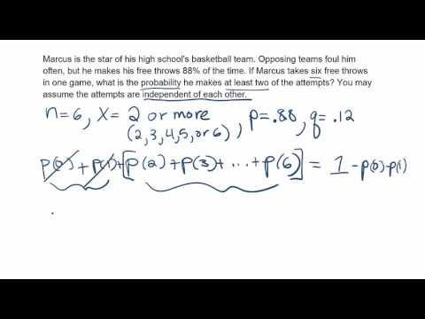 Cumulative Binomial Probability