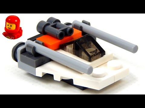 Lego Star Wars Magazine No. 6 Snowspeeder Lego Speed Build