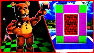 Minecraft FNAF - How to Make a Portal to FIVE NIGHTS AT FREDDY