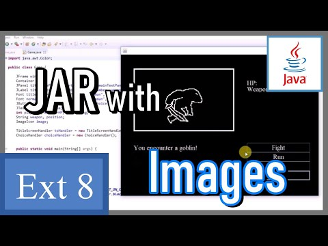 How to make a JAR file with resources (images) - Java Game Development Extra 8