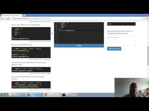 Web developerská škola, časť 21: JavaScript - Polia