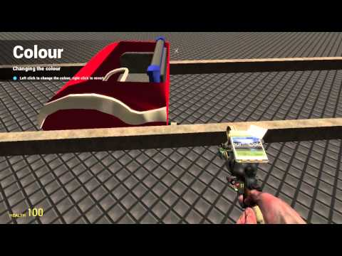 How to make a basic cart in gmod
