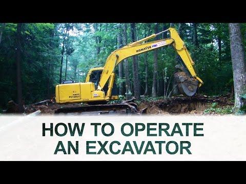 Excavator Operation 101