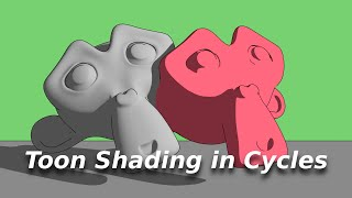 Toon shading in Cycles  [Tutorial]