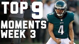9 Things That Made Week 3 AWESOME | NFL Highlights
