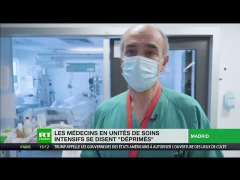 Espagne : le «blues» des médecins en unités de soins intensifs