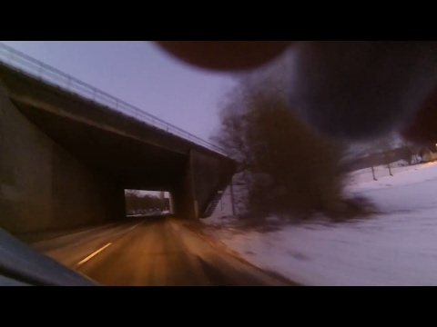 Camera outside of Car Window | -8°C | 100km/h (62mph)