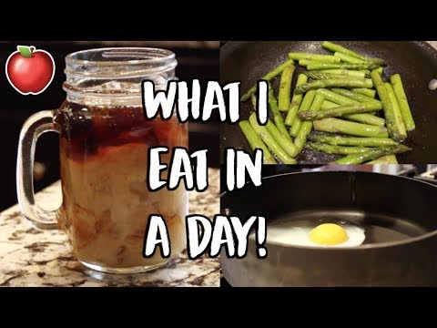 WHAT I EAT IN A DAY!!! | Healthy + Easy!