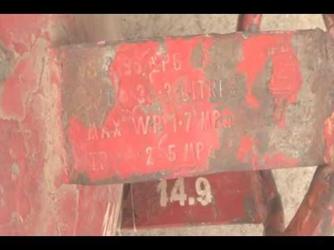 INDIAN GAS LEAKAGE CYLINDER