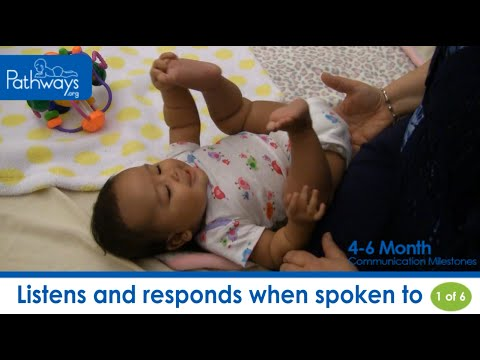 The 4 to 6 Month Baby Communication Milestones to Look For