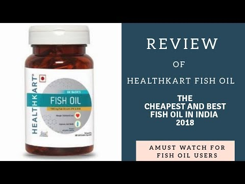 Honest Review Of The Cheapest and The Best Fish Oil Of India | HealthKart Fish Oil ( Omega 3 )|Vicky