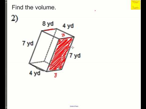 How to find volume of cubes and rectangular prisms