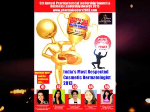 9  India's Most Respected Cosmetic Dermatologist 2013