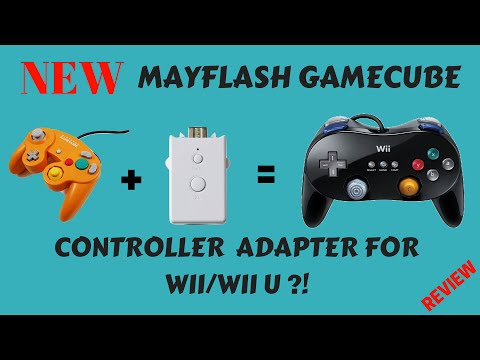 New Mayflash Gamecube Controller Adapter For Wii/Wii U Review!