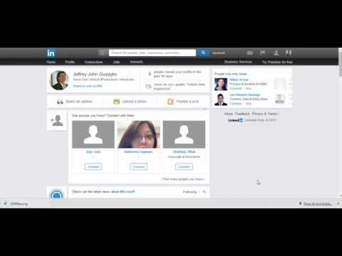 Linkedin - How to request for an endorsement or testimonial