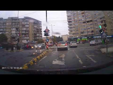 Accident Nufarul, Oradea intersectia 3G 18 Noiembrie 2017