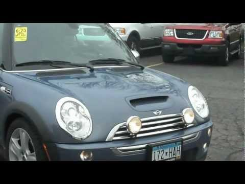 2005 Mini Cooper S Convertible 1.6 liter super charged 4cyl 6 speed