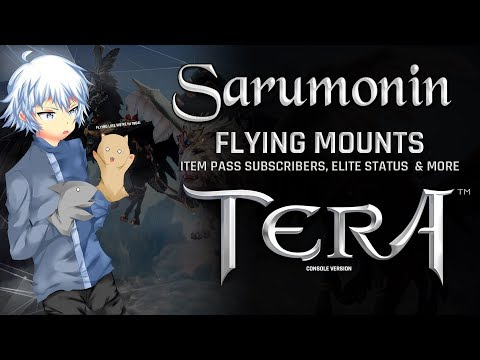 TERA [PS4/XB1] | Flying Mounts Released, Elite Status Mounts, Item Pass & More!